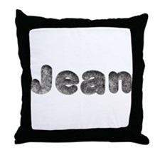 Jean Wolf Throw Pillow