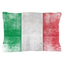 Distressed Italian Flag Pillow Case