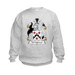 Wingrove Family Crest Kids Sweatshirt
