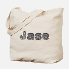 Jase Wolf Tote Bag