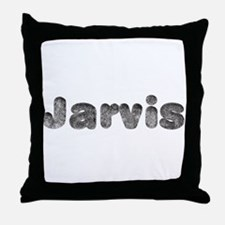 Jarvis Wolf Throw Pillow