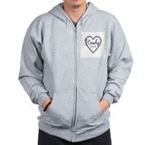 Supernatural crowley Zip Hoodie
