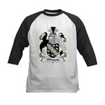 Wingate Family Crest Kids Baseball Jersey