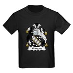 Wingate Family Crest Kids Dark T-Shirt