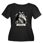 Wingate Family Crest Women's Plus Size Scoop Neck