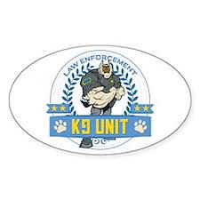 Law Enforcement K9 Unit Decal