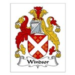 Windsor Family Crest Small Poster