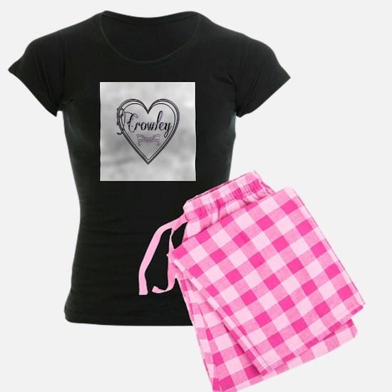Crowley Heart ~ Pajama Women's Dark Pajamas