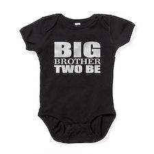 twins big brother Baby Bodysuit