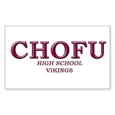 chofu high school japan Decal
