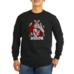 Winckley Family Crest Long Sleeve Dark T-Shirt