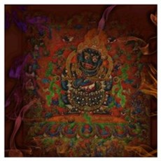 Mahakala from Buddhism Poster