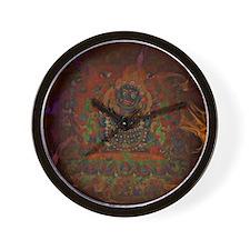 Mahakala from Buddhism Wall Clock