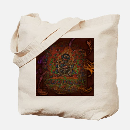 Mahakala from Buddhism Tote Bag