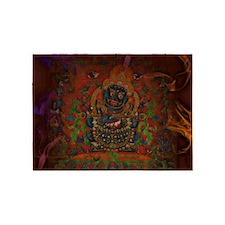 Mahakala from Buddhism 5'x7'Area Rug