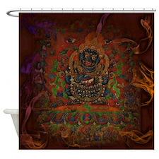 Mahakala from Buddhism Shower Curtain