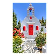 Greek Chapel Postcards (Package of 8)
