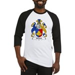 Winch Family Crest Baseball Jersey