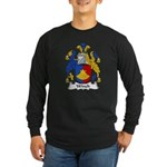 Winch Family Crest Long Sleeve Dark T-Shirt