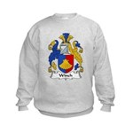 Winch Family Crest Kids Sweatshirt
