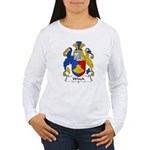 Winch Family Crest Women's Long Sleeve T-Shirt