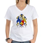 Winch Family Crest Women's V-Neck T-Shirt