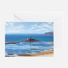 Channel Island Jersey Greeting Card