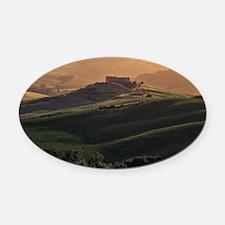 Tuscany Oval Car Magnet