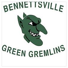 Gremlins in Green Poster