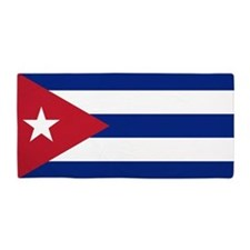 Flag of Cuba Beach Towel