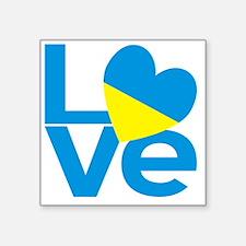 Ukrainian LOVE Sticker