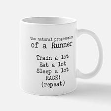 natural progression of a runner Mug