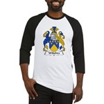 Wiltshire Family Crest Baseball Jersey
