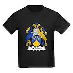 Wiltshire Family Crest Kids Dark T-Shirt