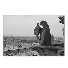 Cute Paris eiffel tower Postcards (Package of 8)