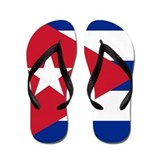Cuban flag Flip Flops