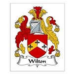 Wilton Family Crest Small Poster