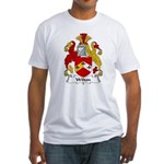 Wilton Family Crest Fitted T-Shirt