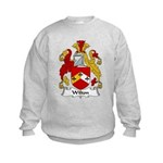 Wilton Family Crest Kids Sweatshirt