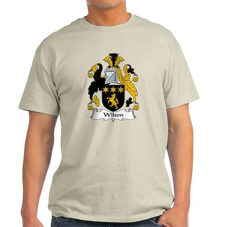 Wilson Family Crest Light T-Shirt