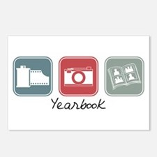 Yearbook (Squares) Postcards (Package of 8)
