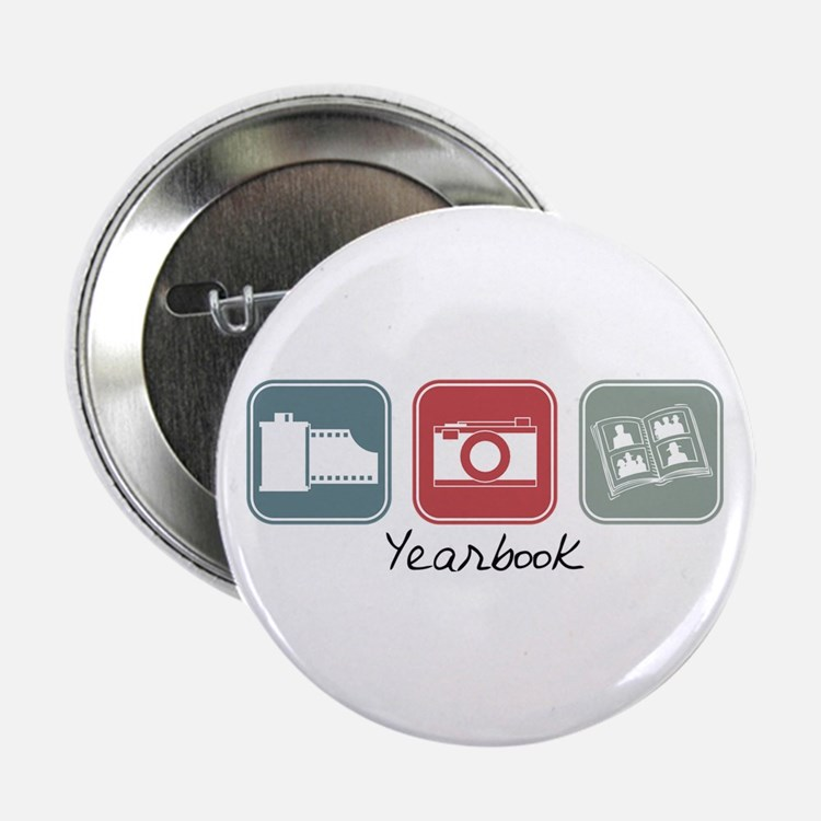 Yearbook (Squares) Button