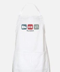 Yearbook (Squares) BBQ Apron