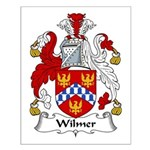 Wilmer Family Crest Small Poster
