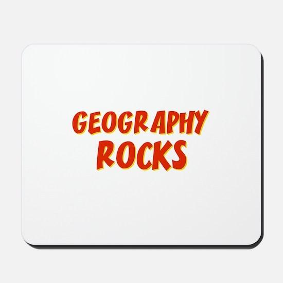 Geography~Rocks Mousepad