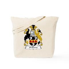 Willmot Family Crest Tote Bag