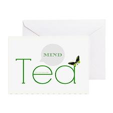 Tea Mind Card Greeting Cards