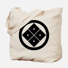 Tilted four-square-eyes in circle Tote Bag