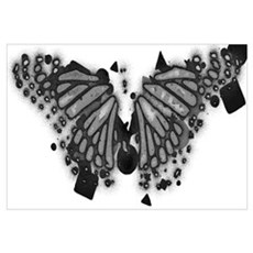 Butterfly wings.© Poster