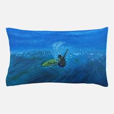 Blue Surf Pillow Case